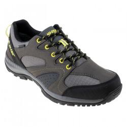 Pantofi turism pentru barbati HI-TEC Harito WP, Gri/Inchis