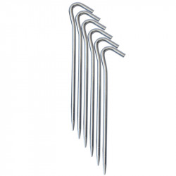 Set de pene pentru cort YATE 185 mm, Aluminiu