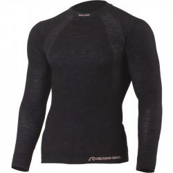 Bluza termo din lana LASTING Wapol, Negru