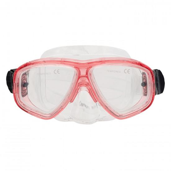 Masca de scufundari AQUAWAVE Saphir JR, Rosu