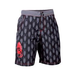 Shorts barbati HI-TEC Bradley, Rosu