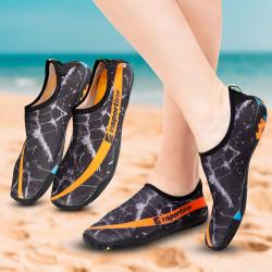 Pantofi Aqua inSPORTline Granota, Negru/Portocaliu