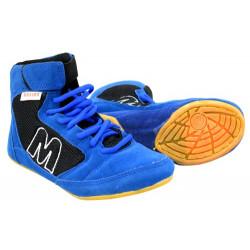 Pantofi de lupte - wrestling MAXIMA, Albastru