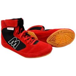Pantofi de lupte - wrestling MAXIMA, Rosu