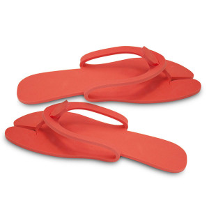 Papuci flip flop YATE Travel Slippers, Rosu