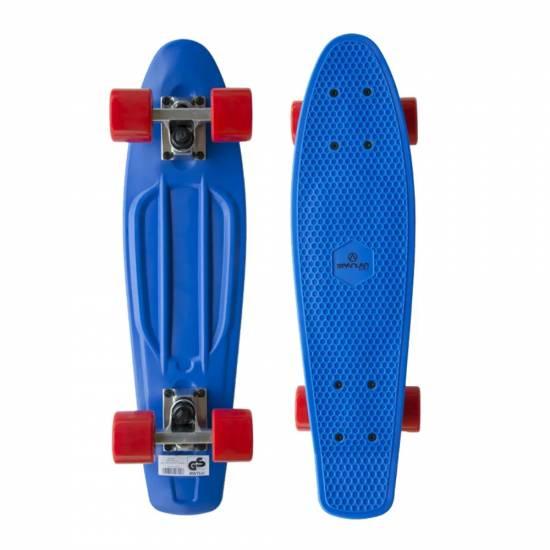Penny Board SPARTAN Plastic Board 22.5, Albastru