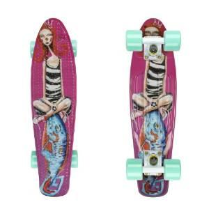 Pennyboard ArtFish Girl 22''
