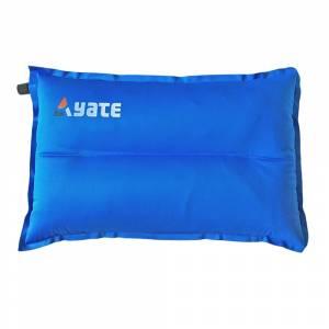Pernă auto-gonflabilă YATE Shaped L 43x26x9 cm, Albastru