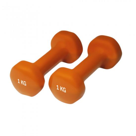 Set gantere neopren YATE 2 x 1 kg