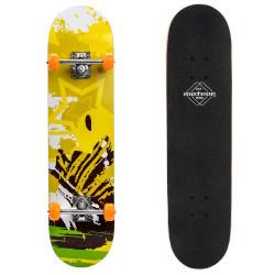 Skateboard METEOR Wooden Yellow