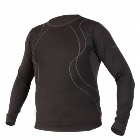 Bluza termica HI-TEC GEMM, Negru/Gri