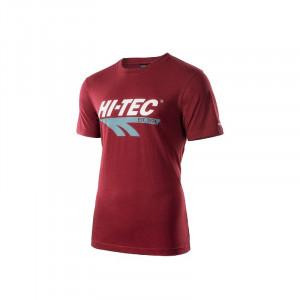 Tricou pentru barbati HI-TEC Retro, Visiniu
