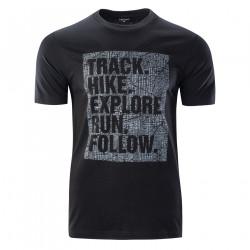 Tricou pentru barbati HI-TEC Thero, Negru