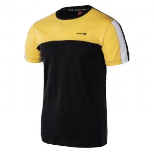 Tricou pentru barbati IGUANA Rampart, Negru/Galben
