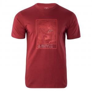 Tricou pentru barbati ELBRUS Napo III, Rosu
