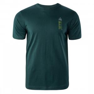 Tricou pentru barbati ELBRUS Rima III, Verde-inchis
