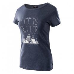 Tricou pentru femei HI-TEC Lady Hanni, Albastru inchis