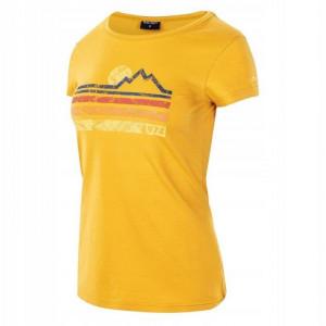 Tricou pentru femei HI-TEC Lady Donyr, Galben