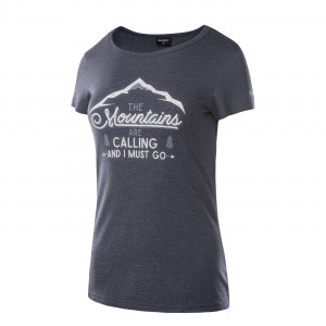Tricou pentru femei HI-TEC Lady Nulis, Albastru inchis