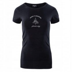 Tricou pentru femei HI-TEC Lady Rone, Negru