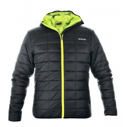 Geaca sport iarna barbati HI-TEC Soveto, Negru / Verde