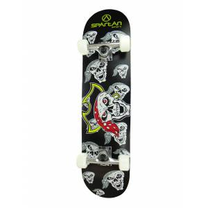 Skateboard SPARTAN Utop Skull 31- PIRATE