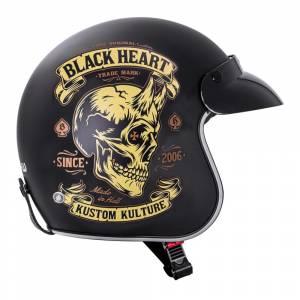 Casca Moto W-TEC V541 Black Heart, Devil
