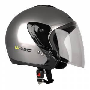 Casca moto W-tec MAX617, Gri