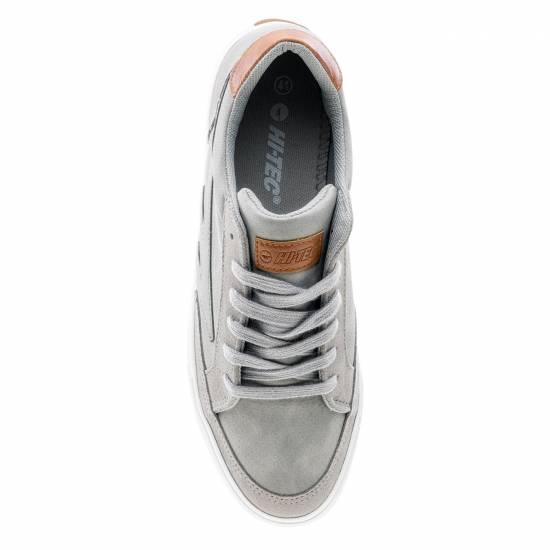 Pantofi Casual Barbati HI-TEC Natib Gri Deschis