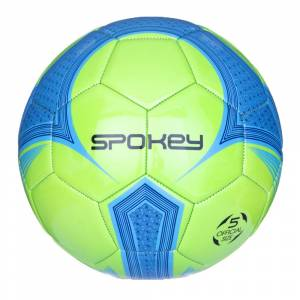 Minge fotbal SPOKEY Velocity Shinout, Albastru / Verde