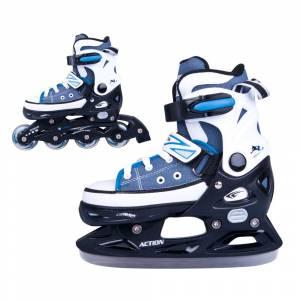 Role / patine reglabile ACTION Gondo 2in1 băieți