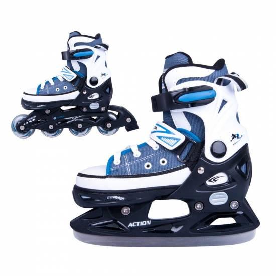 Role / patine reglabile ACTION Gondo 2in1 baieti