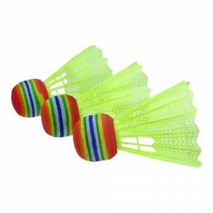 Fluturasi de badminton SPARTAN Neonballe 3 buc