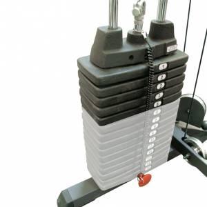 Set de greutati suplimentare fitness Body-Solid SP50, Negru