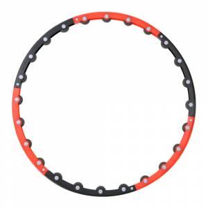 Cerc SPARTAN Hu-La Hoop 100,5 cm. cu roti de masaj