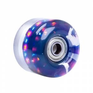 Roata cu LED pentru skateboard PU 50*36mm with ABEC 5 Bearings