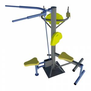 Statie fitness multifunctionala outdoor