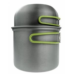 Set vase voiaj aluminiu PINGUIN Double Alu