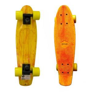 Penny Board SPARTAN Plastic Board 22.5, Galben