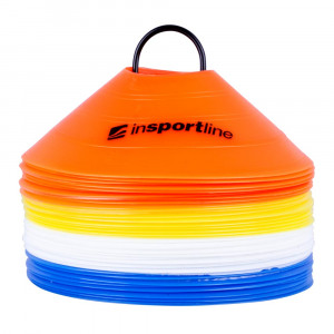 Conuri de antrenament din plastic inSPORTline B40 5 cm