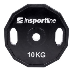 Greutate cauciucata inSPORTline Ruberton 10kg