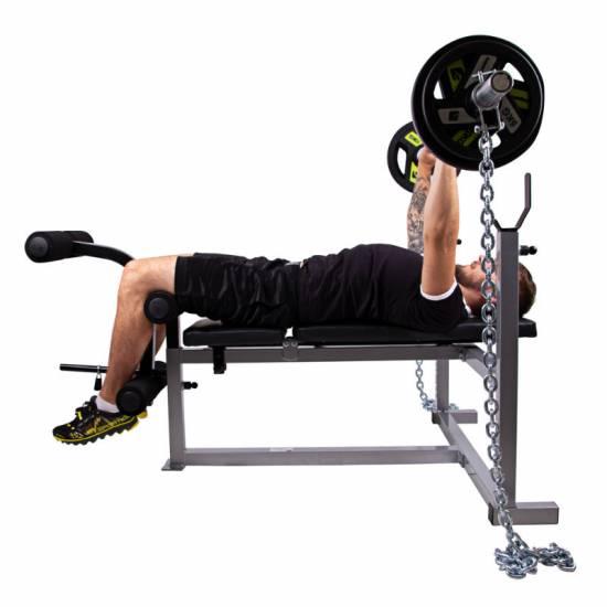Bara cu lanturi de fitness inSPORTline Chainbos 2x25kg