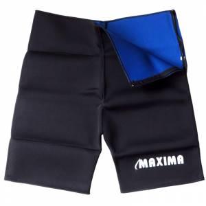 Pantaloni scurti pentru slabit MAXIMA, Negru