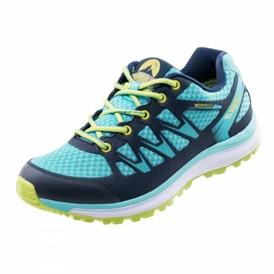 Pantofi sport femei  ELBRUS Seminol WP Wos, Albastru/Verde