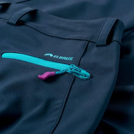 Pantaloni pentru femei ELBRUS Gianna Wo s, albastru