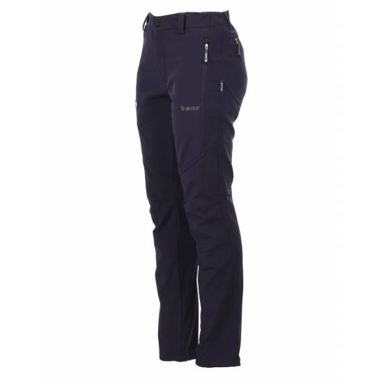 Pantaloni de femei pentru drumetii HI-TEC Lady Evy, Negru