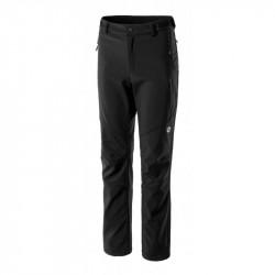 Pantaloni Softshell Dama HI-TEC Lady Evy, Negru/Micro chip