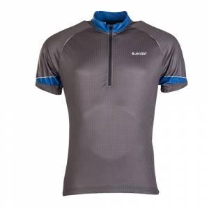 Tricou ciclism HI-TEC Gaute gri / albastru