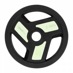 Disc cu acoperire din cauciuc inSPORTline Herk 2.5 kg