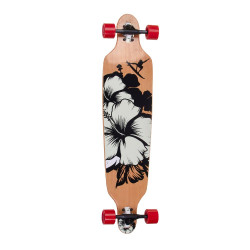 Longboard SPARTAN DROP SHAPE 41 -  Surfer Black